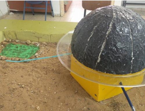 דגם מתקן ניצול מים