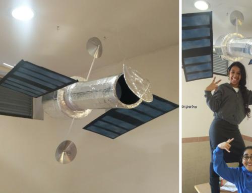 דגם טלסקופ החלל האבל